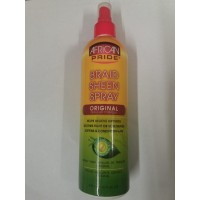 Braid sheen spray