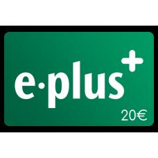 E- Plus 20€