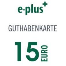 E-PLUS 15€
