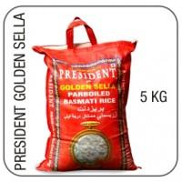 President Golden Sella Parboiled Rice 5kg