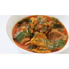 Ora (Oha) Soup with yam pounded yam