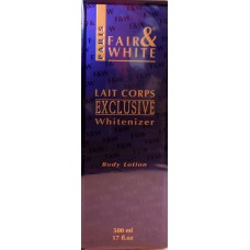 Fair and White Lait Corps