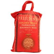 President Golden Sella Parboiled Rice 10kg